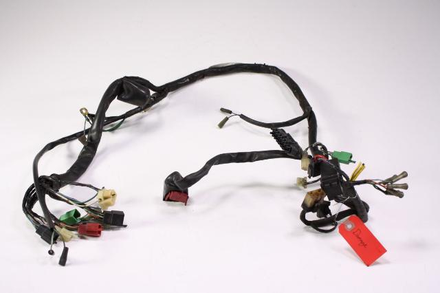 Damaged Wiring Harness on