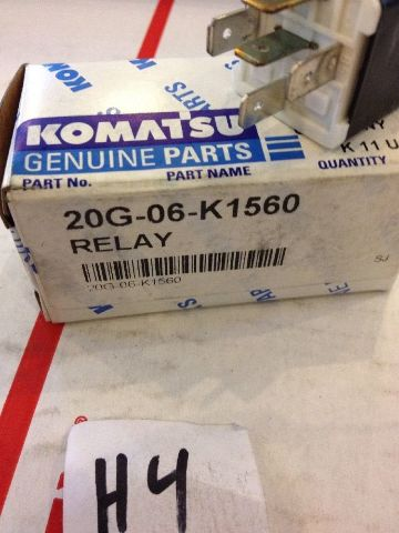 Details about New OEM Komatsu Genuine Parts Relay 20G-06-K1560 Warranty!  Fast Shipping!