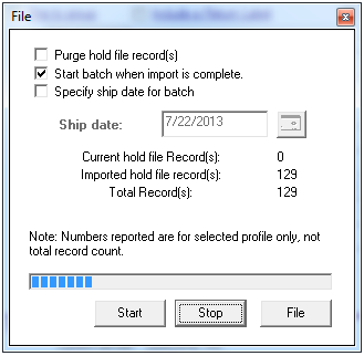 fedex batch file suredone integration