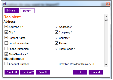 shipment address fedex integration suredone