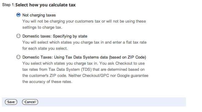 google shopping calculate tax suredone
