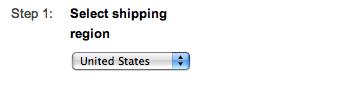 google shopping setup shipping region suredone