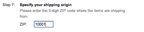 google shopping shipping origin setup suredone