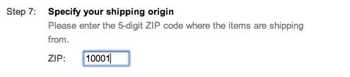 google shopping shipping origin setup suredone