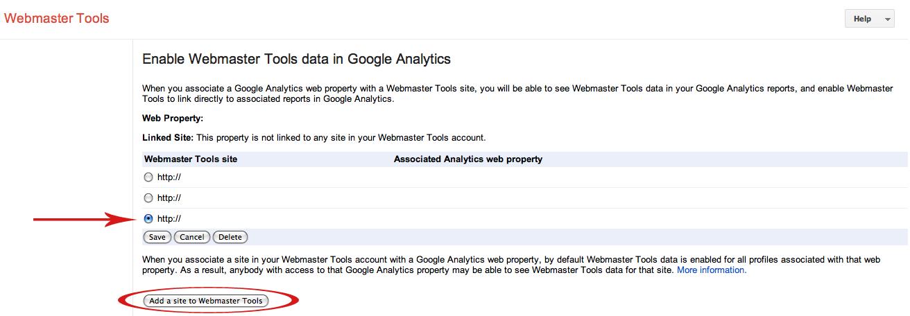 google webmaster enable suredone