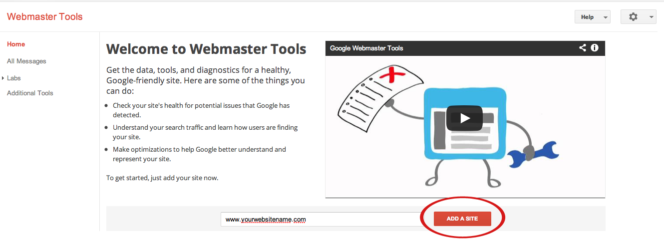 google analytics webmaster tools suredone