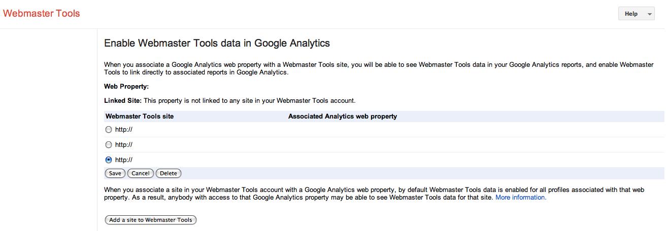 google webmaster tool suredone