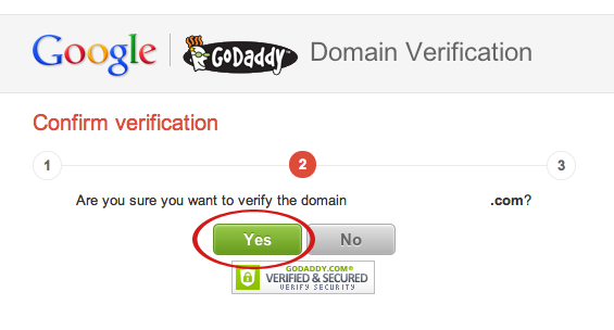 google webmaster domain verification suredone