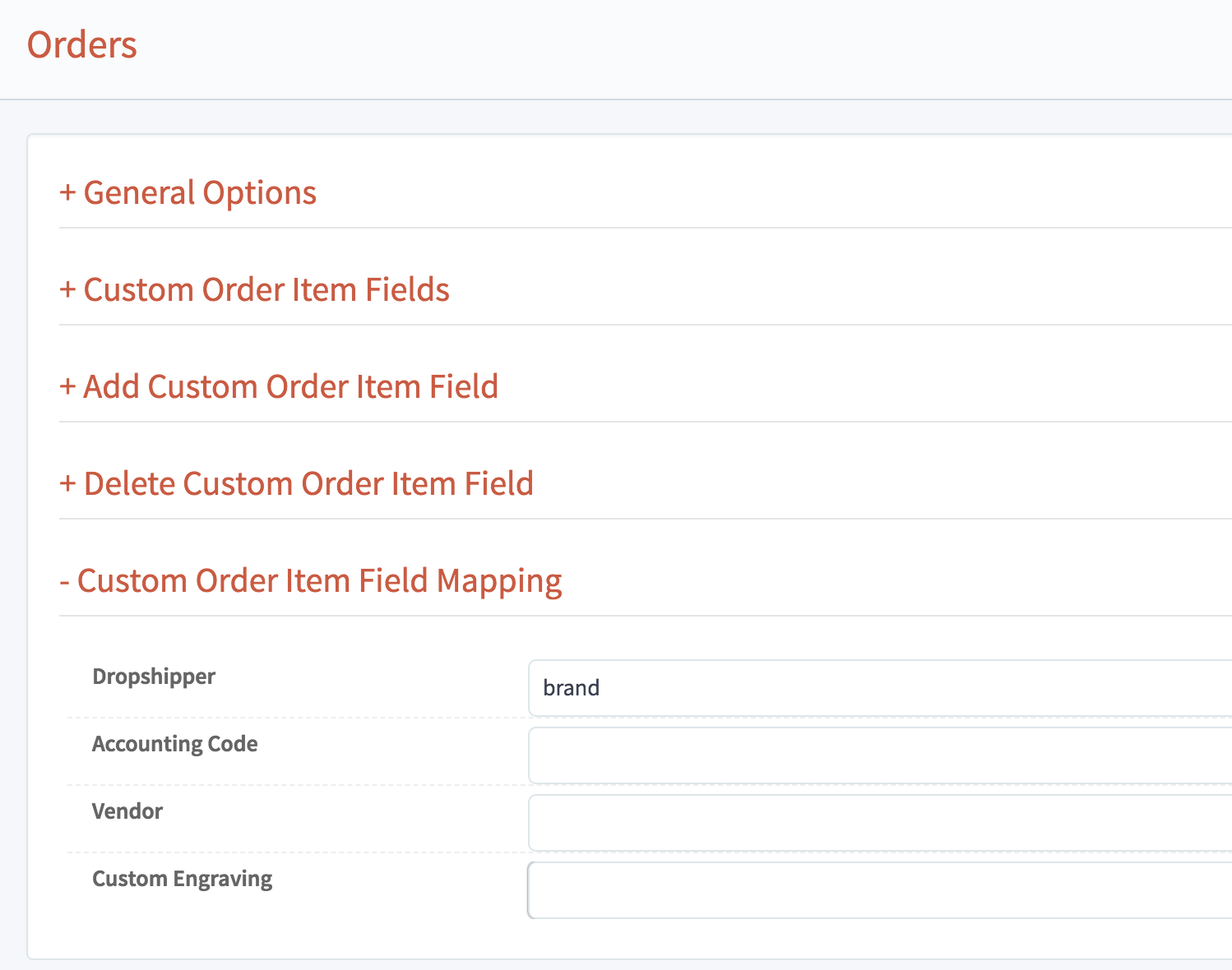 Orders v3 Map Order Custom User Field