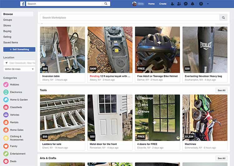 How to Remove on Marketplace Facebook ?